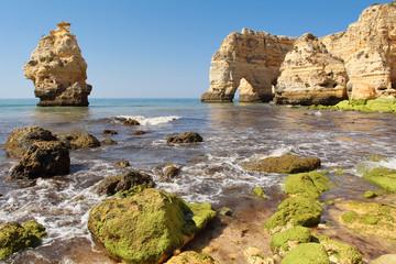 Praia da marinha in Algarve