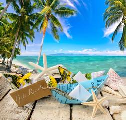 Gute Reise: Karibik genießen :)