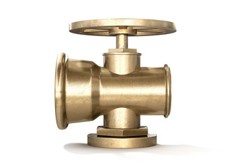 Brass Plumbing Shut Off Valve