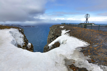 April month North Cape landscape