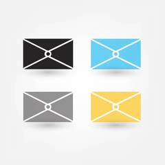 postal envelope icon