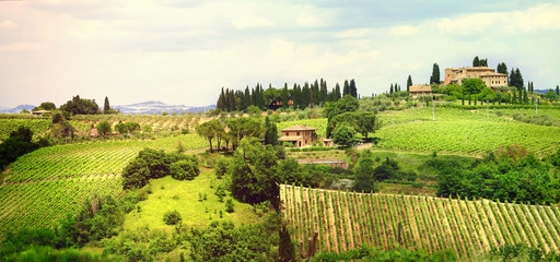 ladscapes of Tuscany, bella Italia series