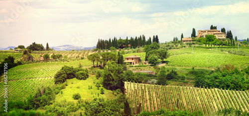 ladscapes of Tuscany, bella Italia series - 66707106
