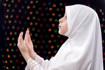 Muslim Girl Duaa