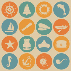 Sea icons.