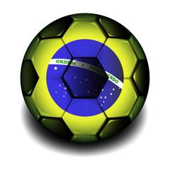 Balon de futbol 3d brazil 2014