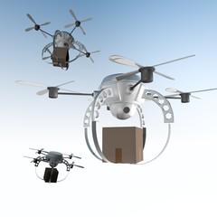 drones nemen pakketpost over