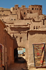 Ouarzazate city in Morocco, Africa
