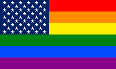 United States Gay flag