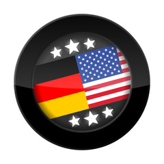 button 201405 deutschland-usa-flaggen I
