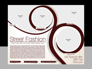 Street Fashion Flyer Template