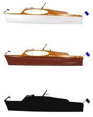 retro runabout boats