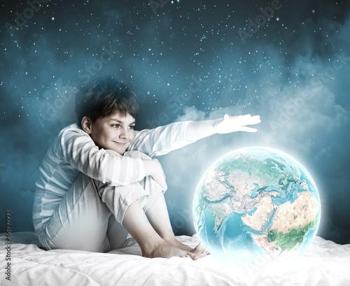 Fototapeta Night dreaming