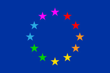European Gay Flag