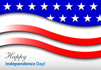 happy independence day – card