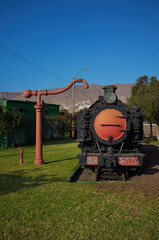 Historic Locomotive in Antofagasta, Chile