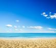 beach and tropical sea - 66712305