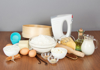 Products for cooking cupcakes