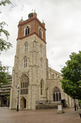 St Giles Cripplegate church, London
