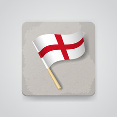 England flag, vector icon
