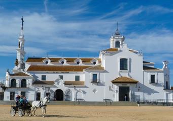 Eglise El Rocio Almonte Andalousie