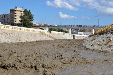 Storm drainage, Albox, Spain