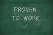 Proven to work handwritten on blackboard