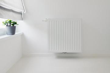 interior detail with radiator