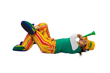 Brazilian fan laying
