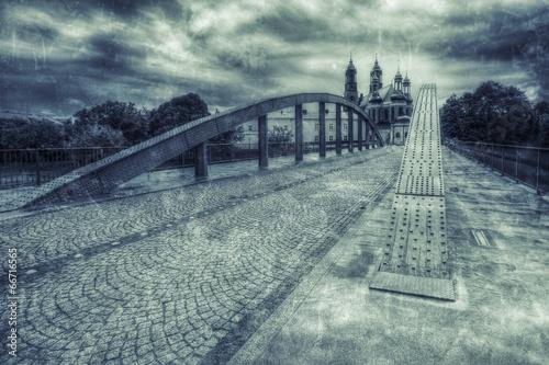 Most Biskupa Jordana w Poznaniu styl retro - 66716565