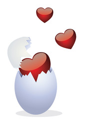 Chickens and Valentine's Day