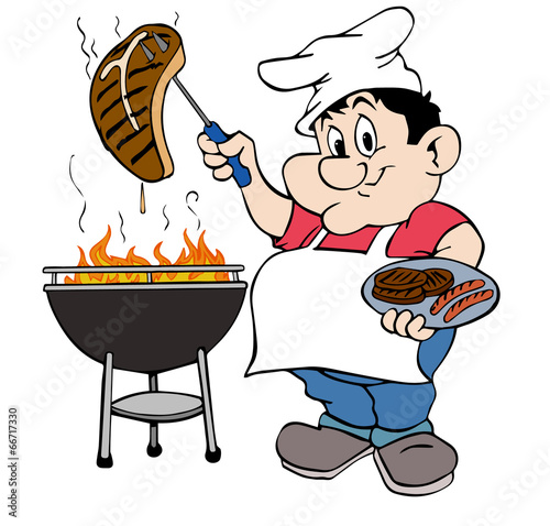 Barbecue Guy - 66717330