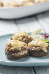 stuffed mushrooms series 05