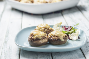 stuffed mushrooms series 06