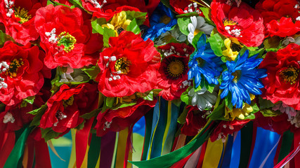Ukrainian traditional wreath