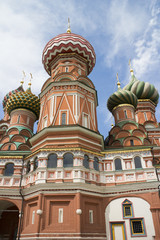 St. Basil's Cathedral at red square, Moscow, Russia