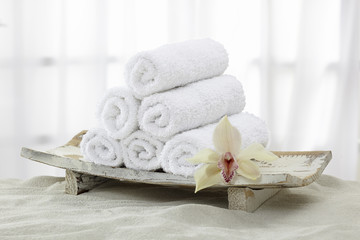 Handtücher, Handtuchrollen