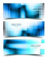 Banner Backgrounds for business card or corporate covers