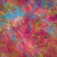 Abstract textured digital painting