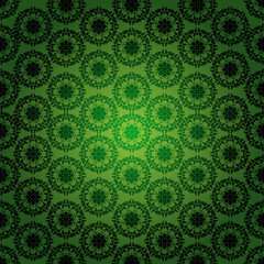 abstract damask ornament seamless pattern