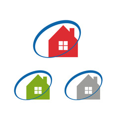 home, house logo icon