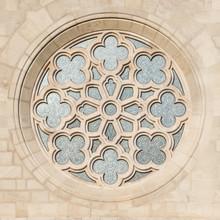 Fenêtre de l'église Saint Matthias à Budapest