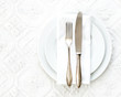 Vintage basic place setting