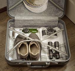 Koffer packen zum Wandern