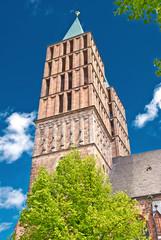 Die Stadtkirche von Kassel in Nordhessen