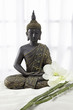 canvas print picture - Buddha Statue