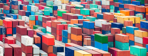 canvas print picture Container Terminal