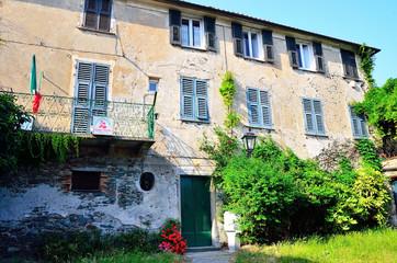 s.giovanni di stella,  italy: birth house of  Sandro Pertini