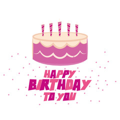 Cute Happy Birthday Card Template Editable