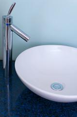 Bathroom sink bowl counter tap mixer